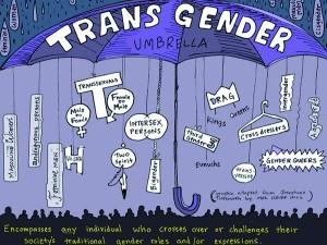Psychologische Probleme von Transgender
